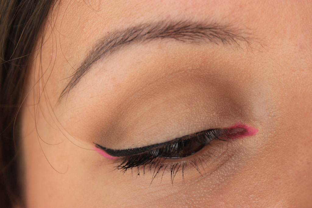 Pop-of-pink-makeup