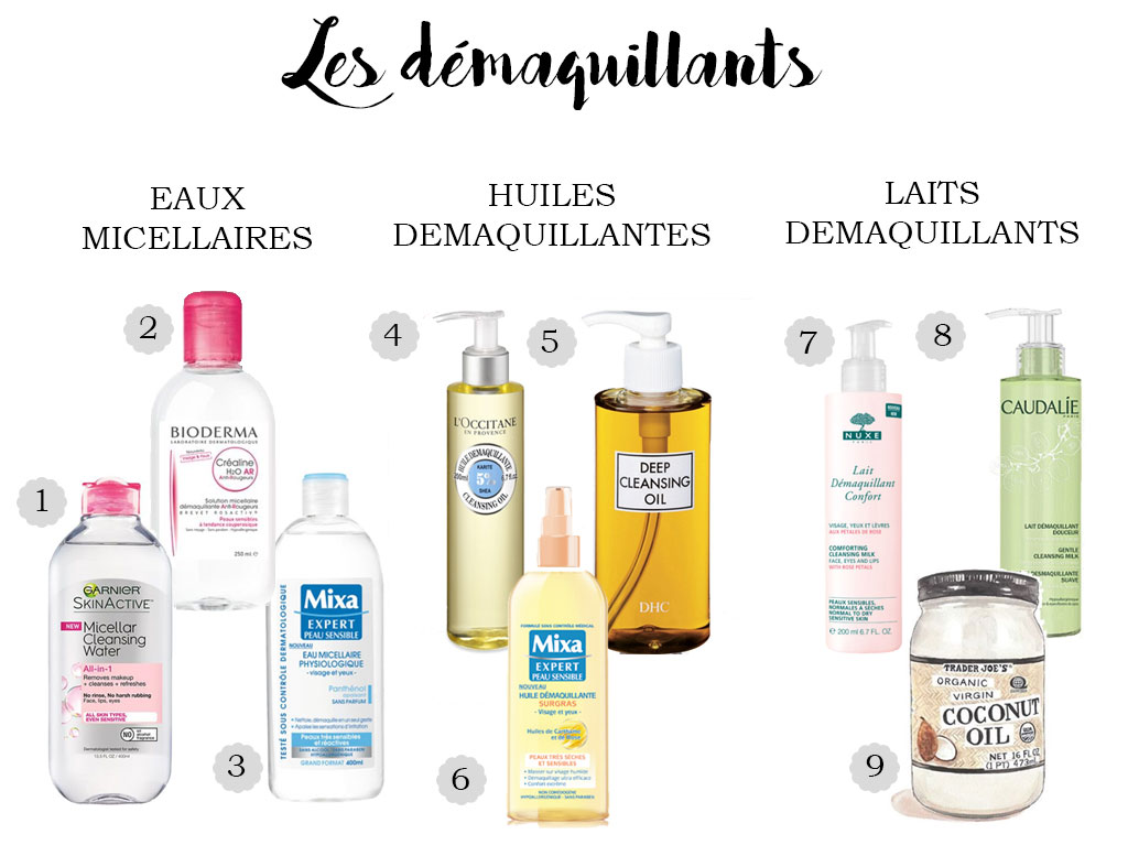 démaquillants