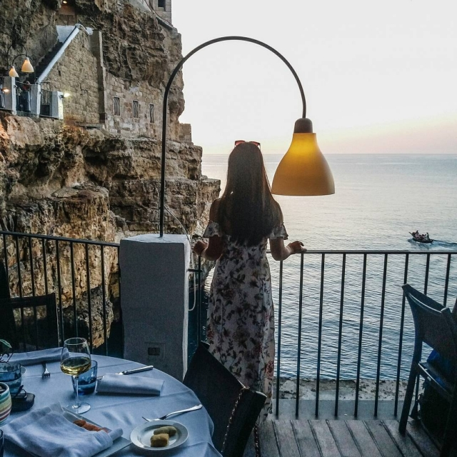 Living a dream at Polignano a Mare  Having ahellip